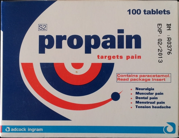 Propain Pain and Tension Relief Tablets 100's